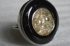 Кольцо- золотой статер Пантикапея