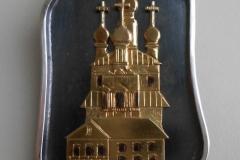 Спасо-Каменный монастырь, серебро, позолота.