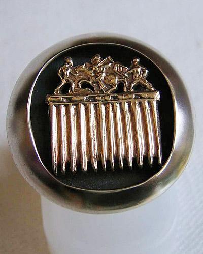 Кольцо Гребень из кургана Солоха